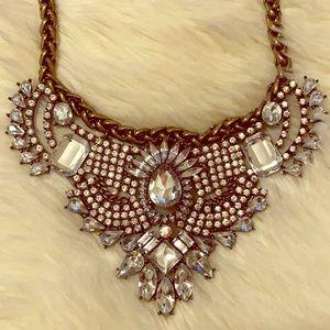 Baublebar Crystal Bib Statement Necklace